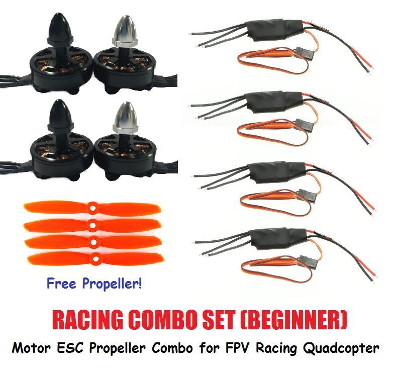 Racing Combo Set for Beginner FPV Racing Drone Brushless Motor ESC
