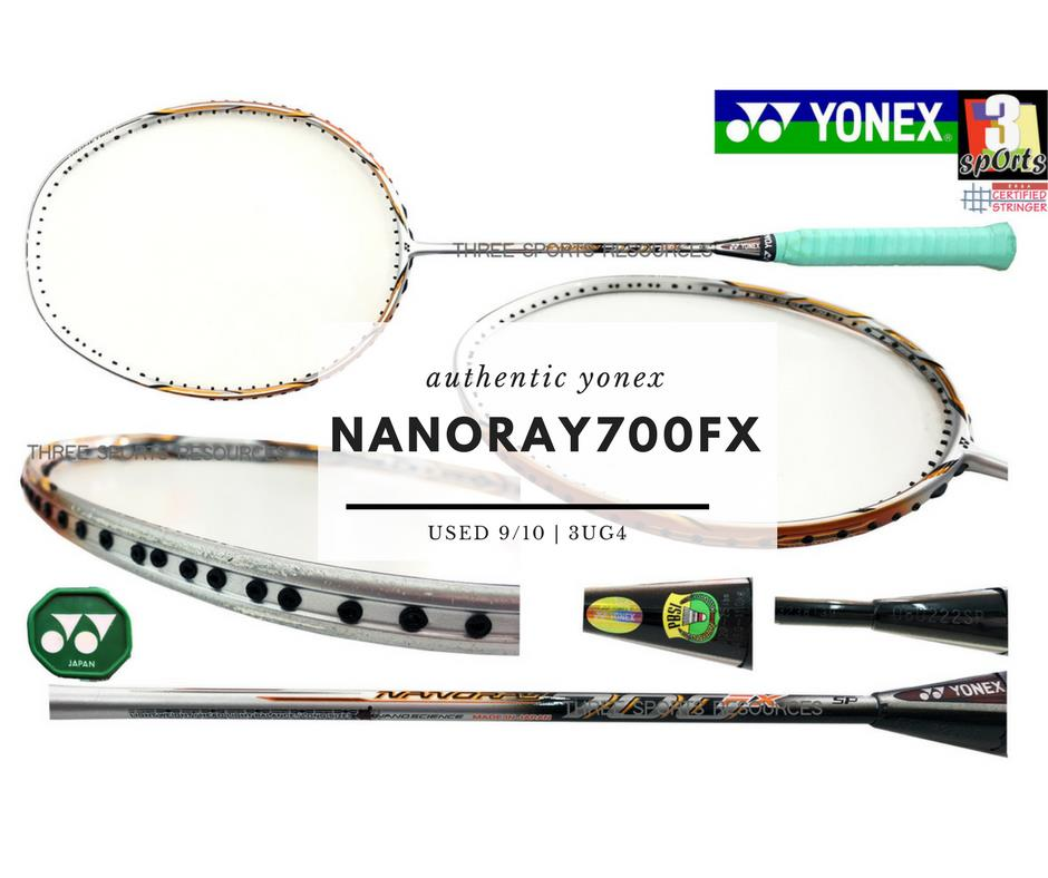[ USED RACKET ] : YONEX NANORAY 700 FX