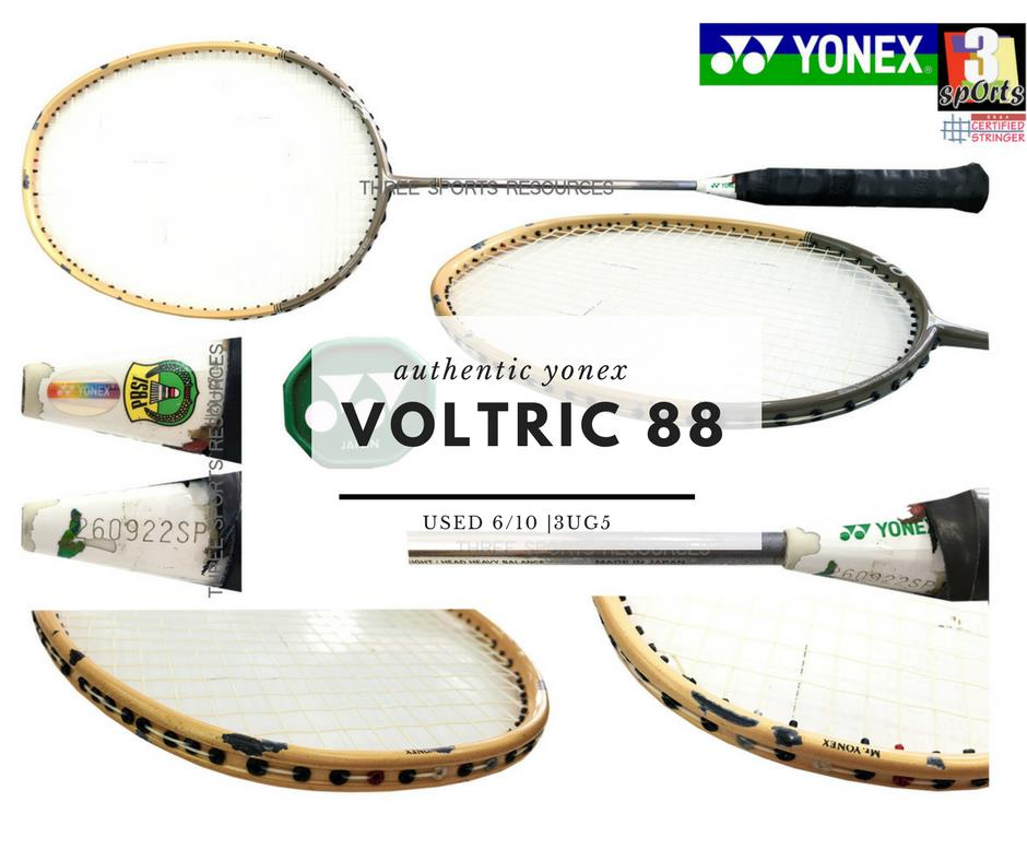[ USED RACKET ] : YONEX VOLTRIC Z-FORCE 88 Limited Edition