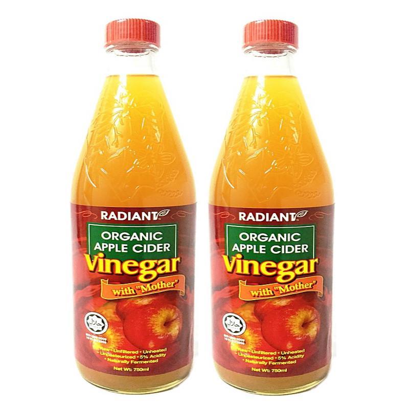 Radiant Organic Apple Cider Vinegar End 6 3 2018 12 13 Pm