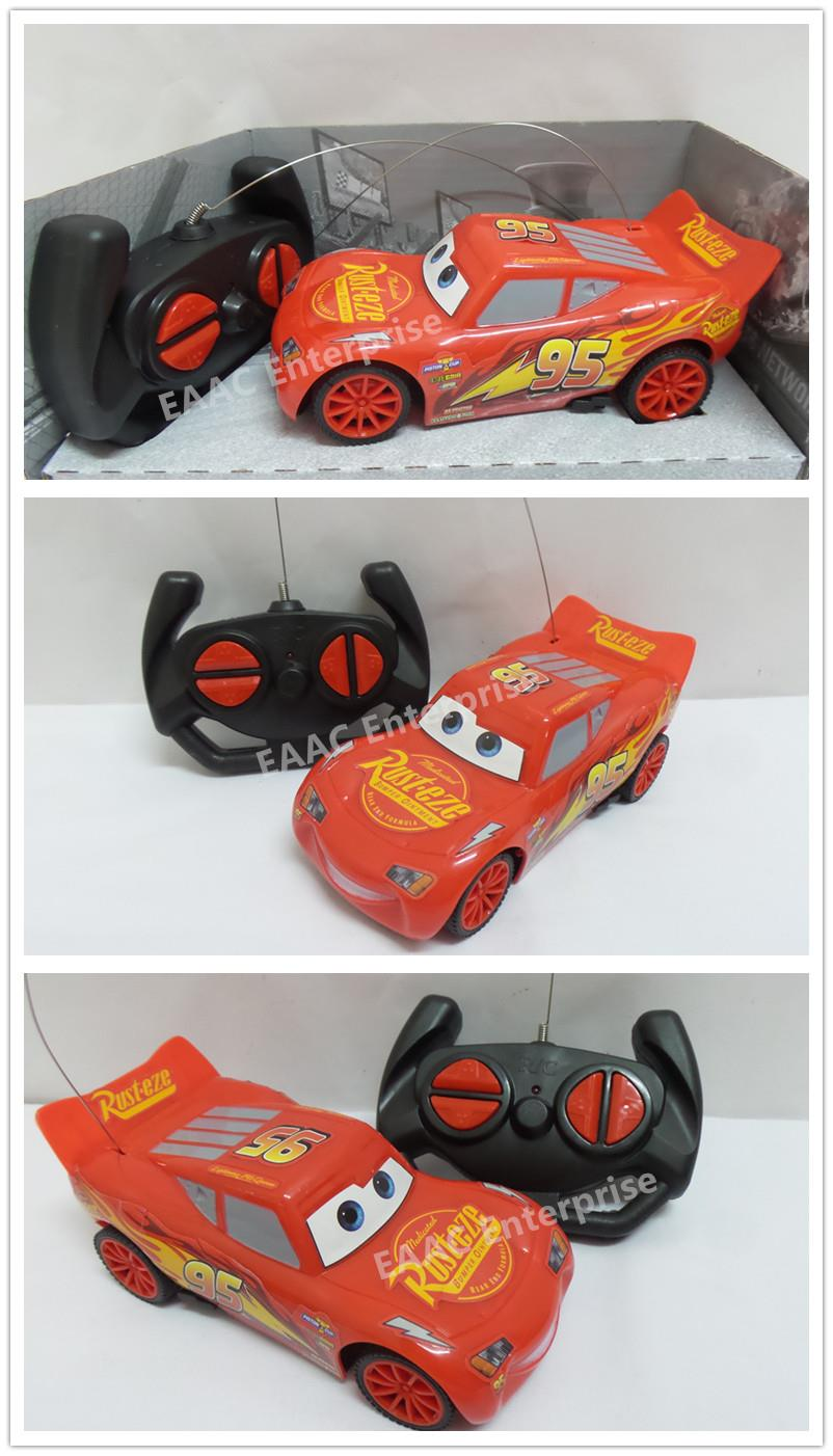 Radio Remote Control RC Racing Lightning Mcqueen 95 Sports Cars