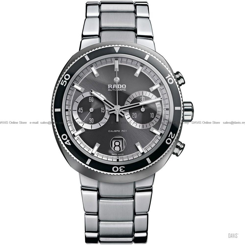 RADO Watch R15965103 D-Star 200 Chronograph Automatic Bracelet Grey