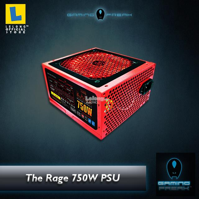 The Rage Power 750W Supply