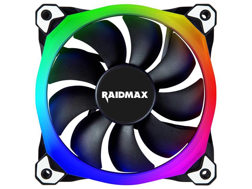Raidmax NV-R120B 12CM Aura Sync RGB Case Fan
