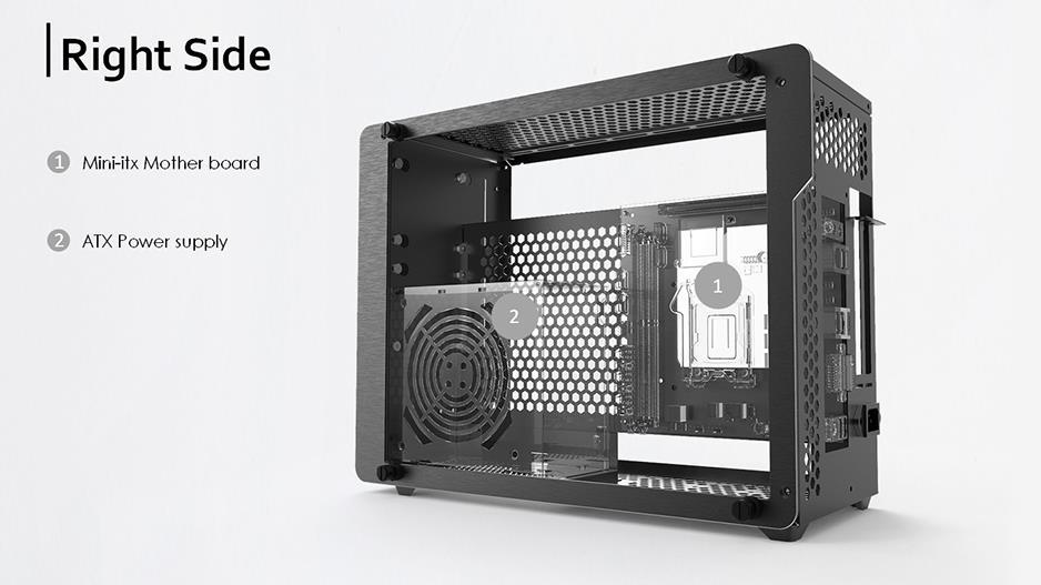 Best Mini Itx Case 2020 RAIJINTEK Ophion Evo Mini ITX Tempe (end 9/21/2020 11:15 AM)