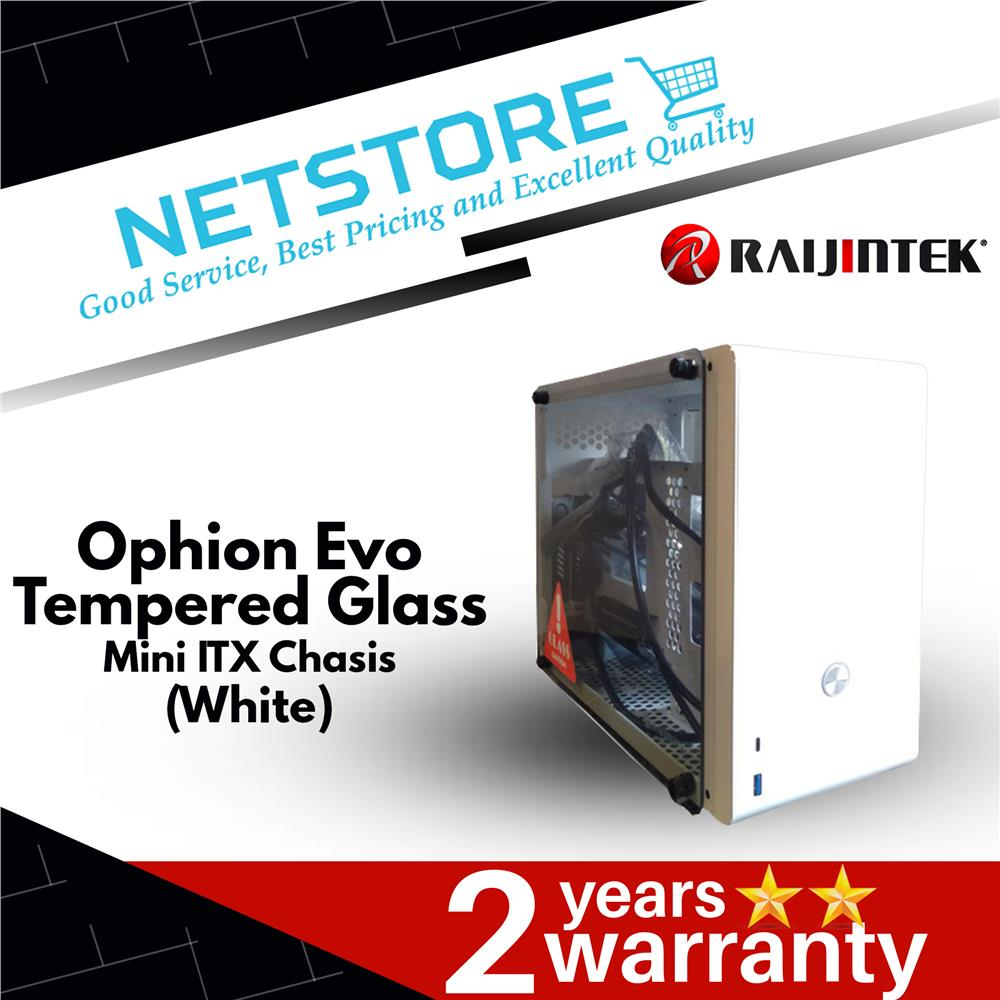 Best Mini Itx Case 2020.Raijintek Ophion Evo Mini Itx Tempered Glass Sff Case White