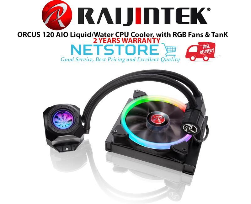 Best Aio Cooler 2020 RAIJINTEK ORCUS 120 AIO Liquid/Water (end 1/8/2020 2:15 PM)