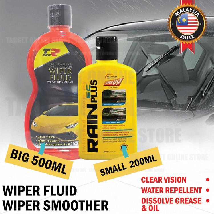 Rain Repellent Windshield Wiper Fluid Clear Vision 500ML/200ML