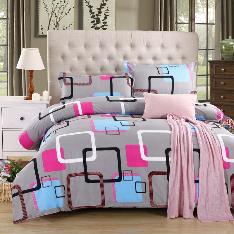 Rainbow Court Bed Sheet   Diamond Velvet Bedding 4 Pcs. U2039 U203a