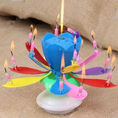 Rainbow Music Birthday Candle End 6 20 2020 200 AM