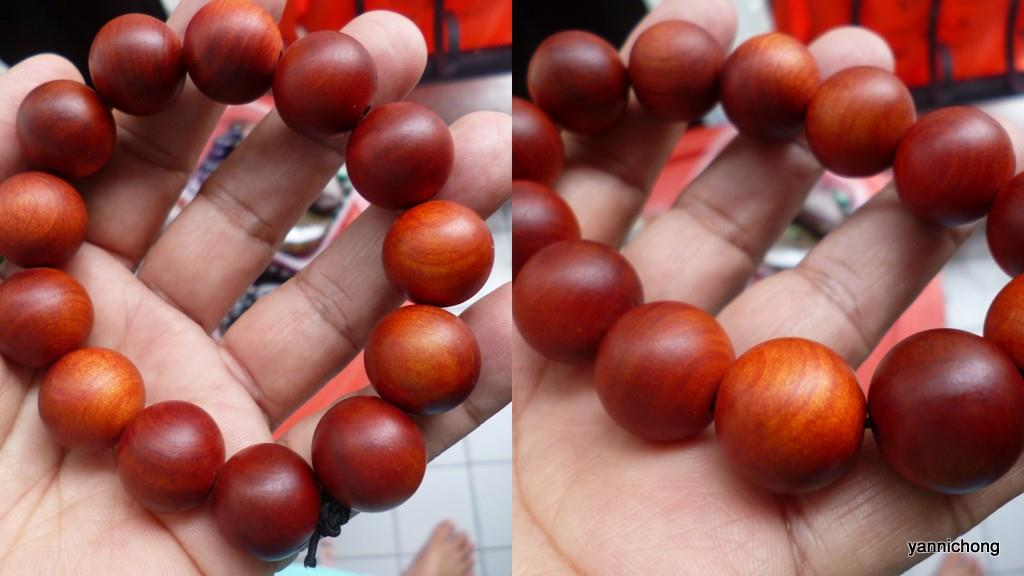 RAJA  KAYU RED WOOD  BRACELET 1