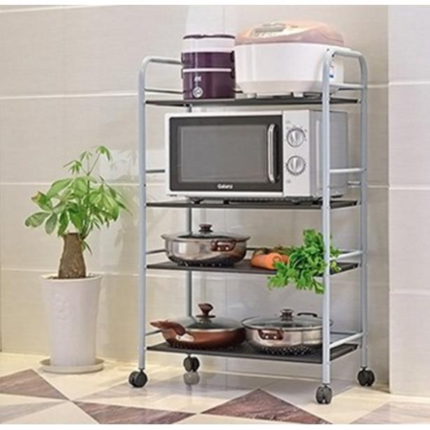 Rak Penyimpanan Dapur Stainless Steel Rack Shelves Heavy Duty