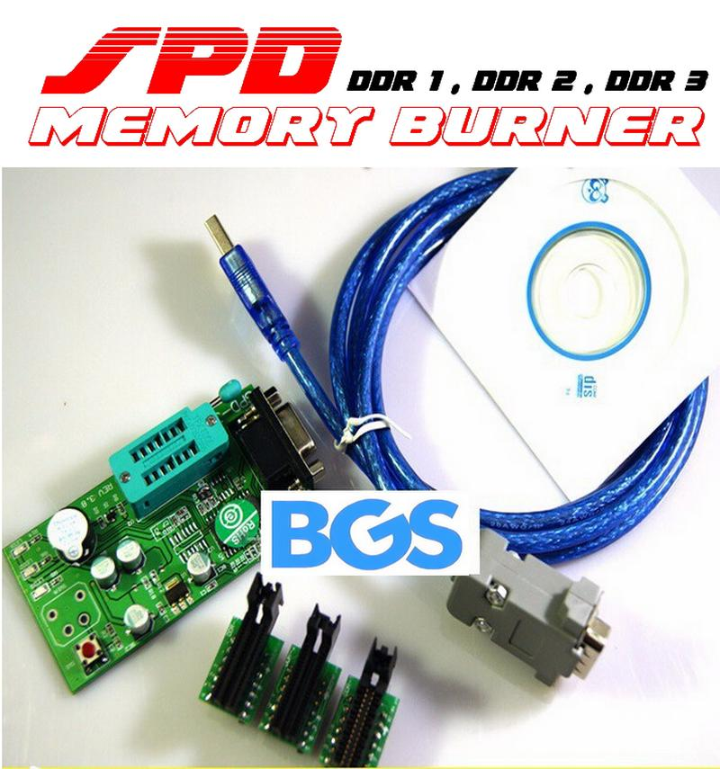 Ram memory SPD burner and rewriter tool support DDR1 DDR2 DDR3