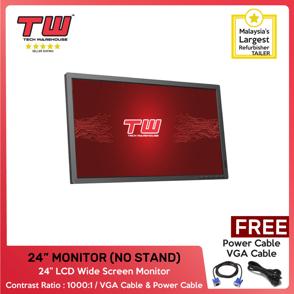 "RANDOM 24 "" LCD MONITOR WITHOUT STAND"
