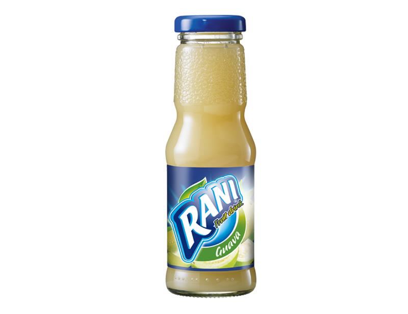 Rani Guava Fruit Drink Juice 200 ml glass bottle