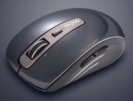 Rapoo 3920P 5G Wireless Laser Mouse - Black