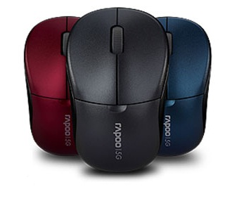 RAPOO 5GHz WIRELESS OPTICAL MOUSE (1090PRO) BLK