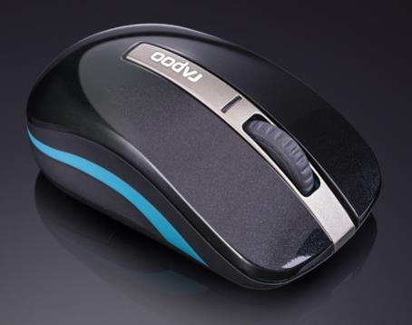 Rapoo 6610 Bluetooth 3.0 & 2.4G Dual Mode Wireless Optical Mouse