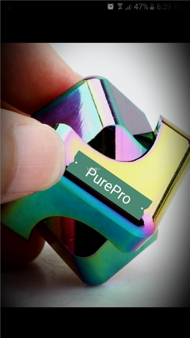 Rare USA Stock Rainbow Fidget Cube Spinner Gear Stick Hand