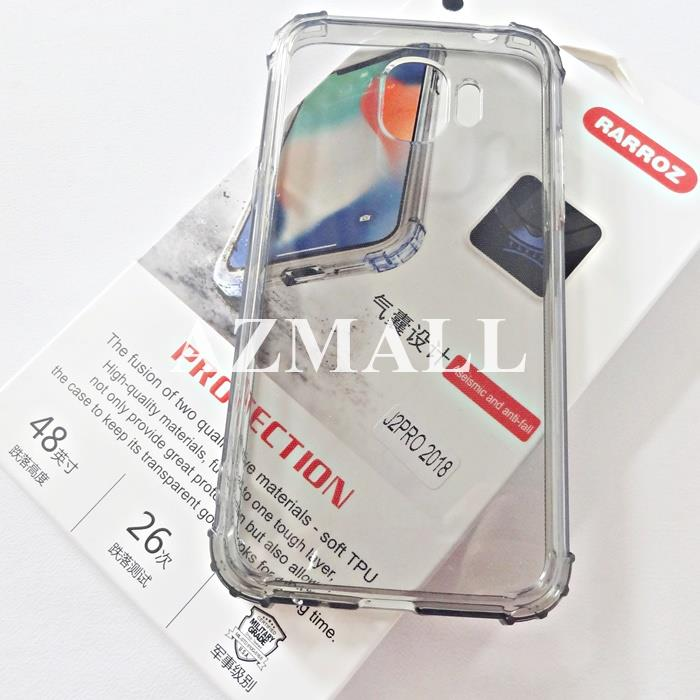 RARROZ Anti DROP Military Safety TPU Case Samsung Galaxy J2 Pro (2018)