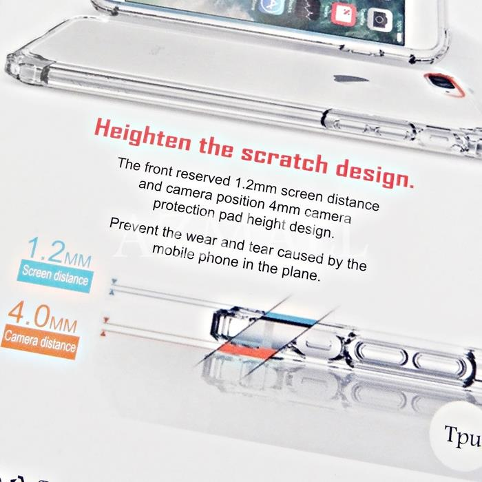RARROZ Anti DROP SHOCK Military Safety TPU Case Huawei Mate 10 Pro