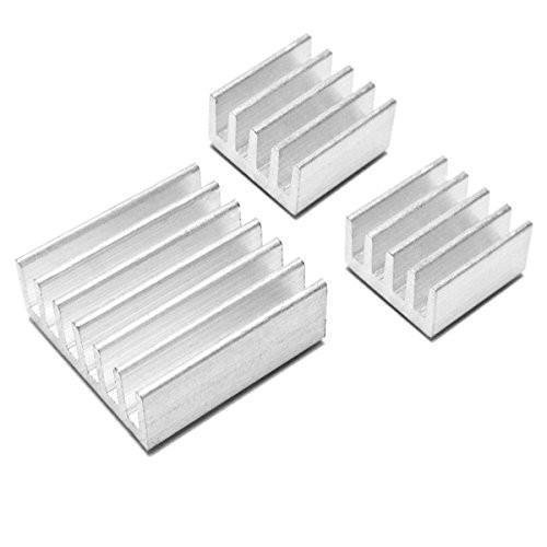 Raspberry Pi Pure Aluminum Heat Sink (3pcs pack)