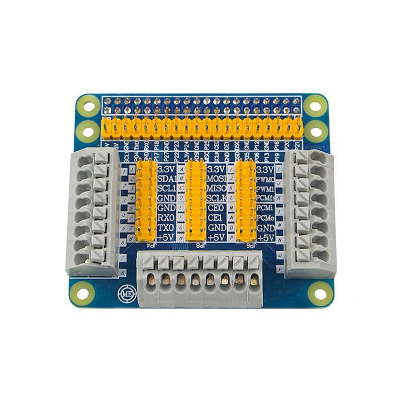 Raspberry Pi Quick Connect GPIO Expansion Board; Free Jumper Cap
