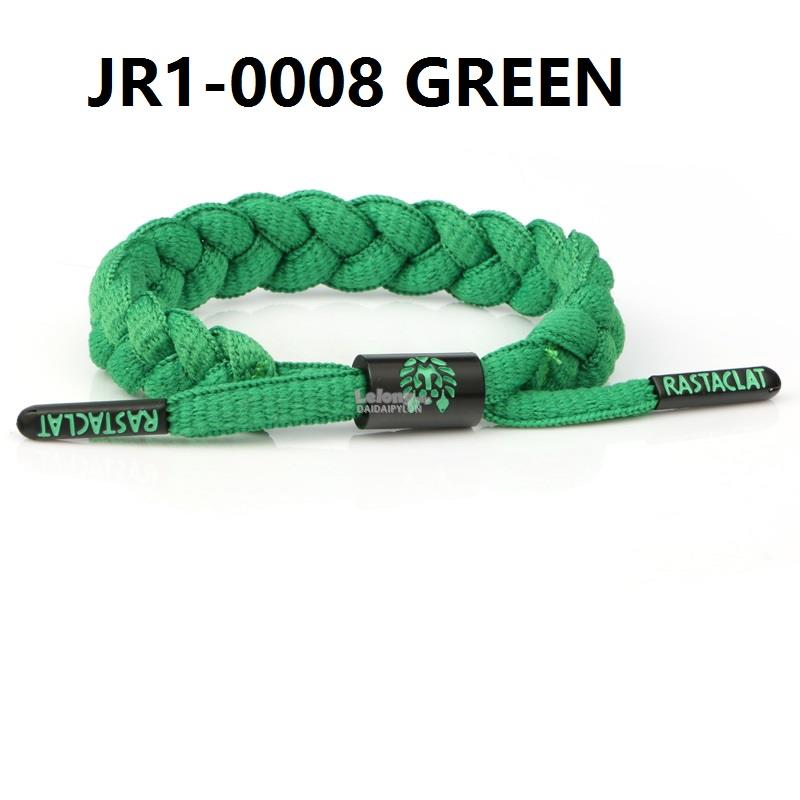 RASTACLAT SLOELACE BRACELET wristband wrist band jewelry bangle Green