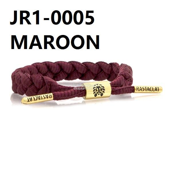 RASTACLAT SLOELACE BRACELET wristband wrist band jewelry bangle maroon