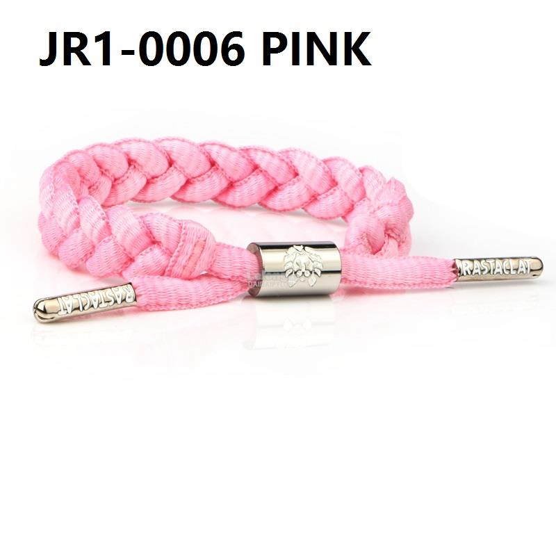 RASTACLAT SLOELACE BRACELET wristband wrist band jewelry bangle pink