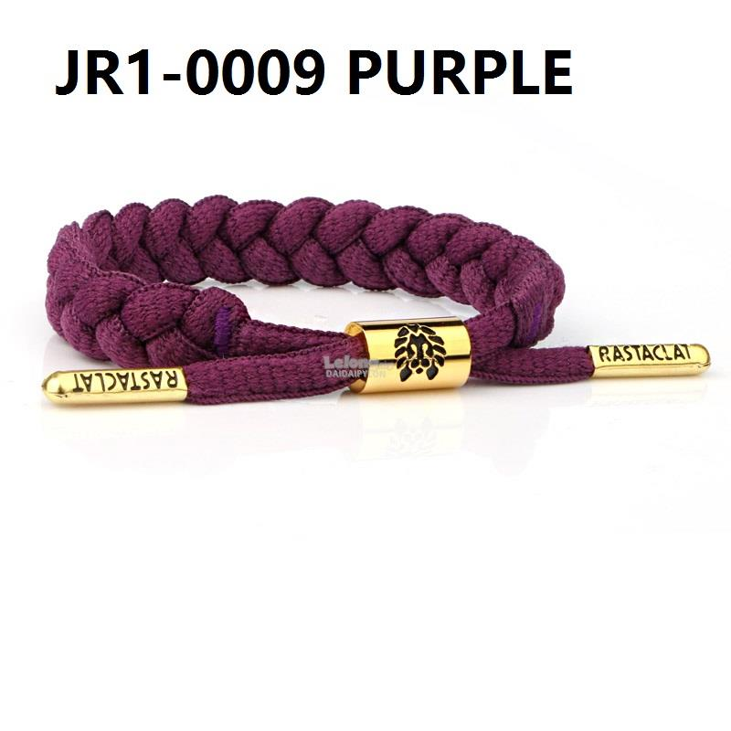 RASTACLAT SLOELACE BRACELET wristband wrist band jewelry bangle purple