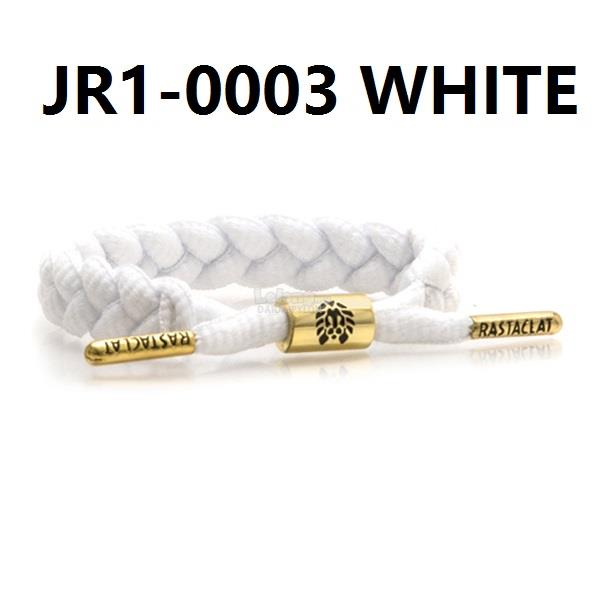 RASTACLAT SLOELACE BRACELET wristband wrist band jewelry bangle WHITE