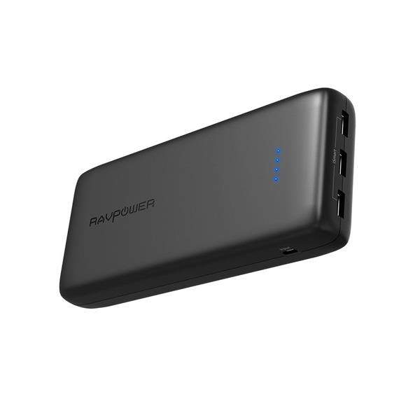 RAVPower Ace Series 32000mAh 3 USB Ports Power Bank