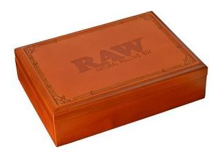 Raw Box For Rolling and Storing Tobacco