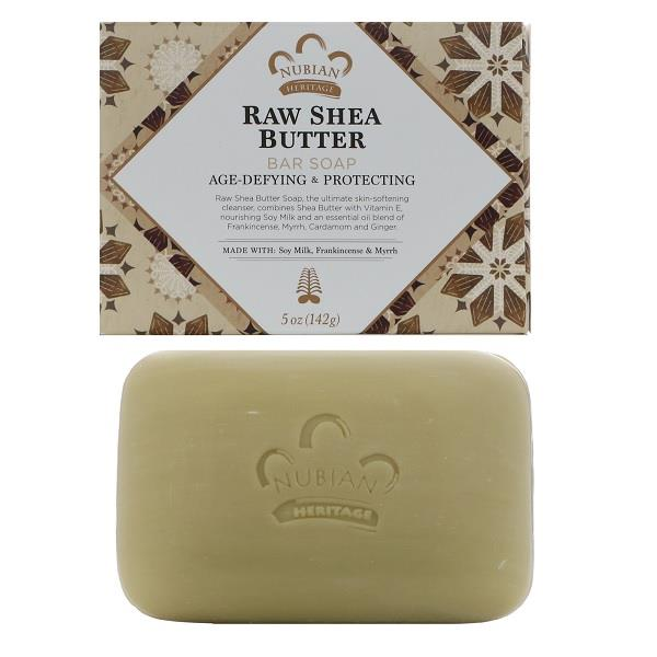 Raw Shea Butter Bar Soap, Age-Defying & Protecting (142g)