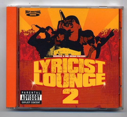 Rawkus 'Lyricist Lounge 2' Hip Hop CD