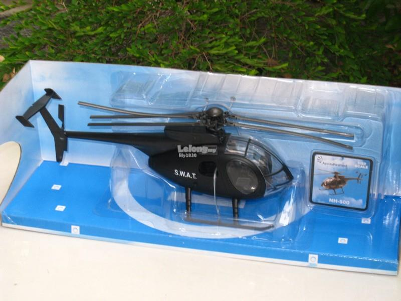 New Ray 1/32 Diecast Helicopter Agusta Westland NH-500 Police S.W.A.T