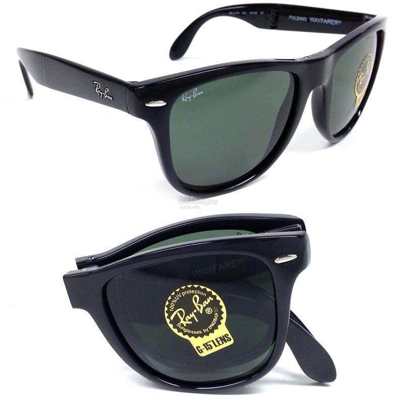 43286412107f7 ... best price rayban 4105 601s folding wayfarer sunglasses 9b222 0f370