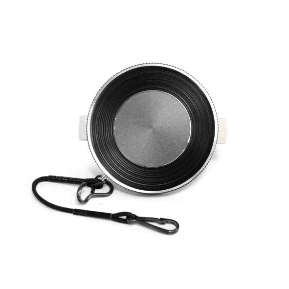 Raydawn 46MM Vintage Snap-In Squeeze Metal Lens Cap Cover