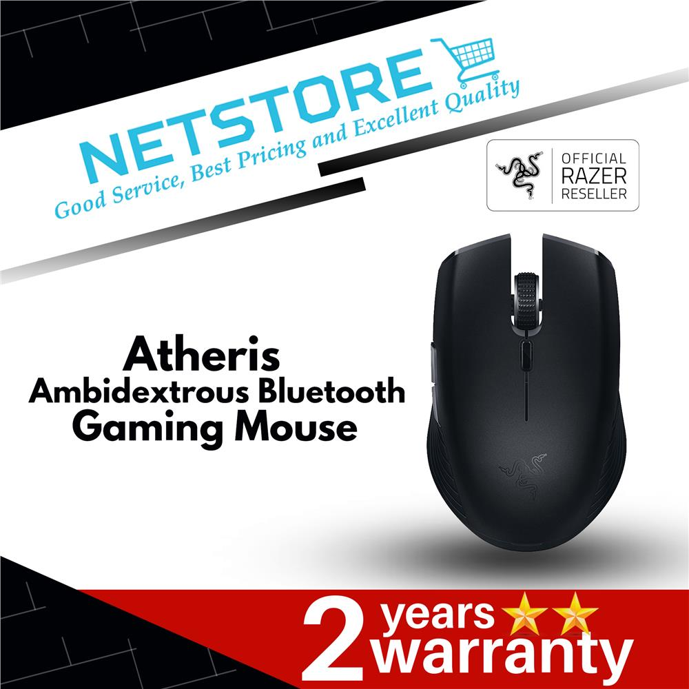Razer Atheris - Ambidextrous Bluetooth Mouse - RZ01-02170100-R3A1