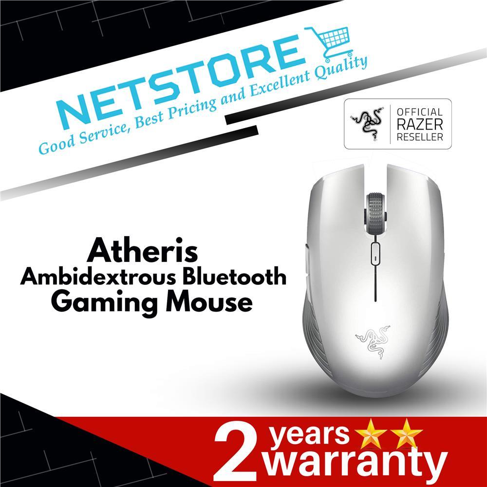 Razer Atheris Ambidextrous Bluetooth Mouse - White RZ01-02170300-R3M1