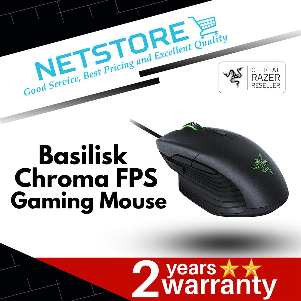 Best Fps Mouse 2020.Razer Basilisk Chroma Fps Gaming Mouse Rz01 02330100 R3a1