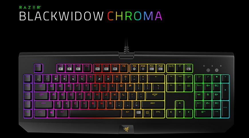 how to add chroma profiles for razer black widow