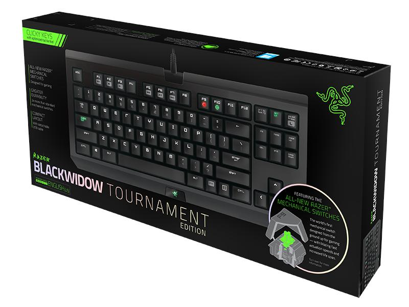 # Razer BlackWidow Tournament 2014 / Razer Green Switch #