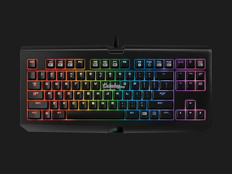 Razer Blackwidow Tournament Chroma Keyboard (Green Switch)