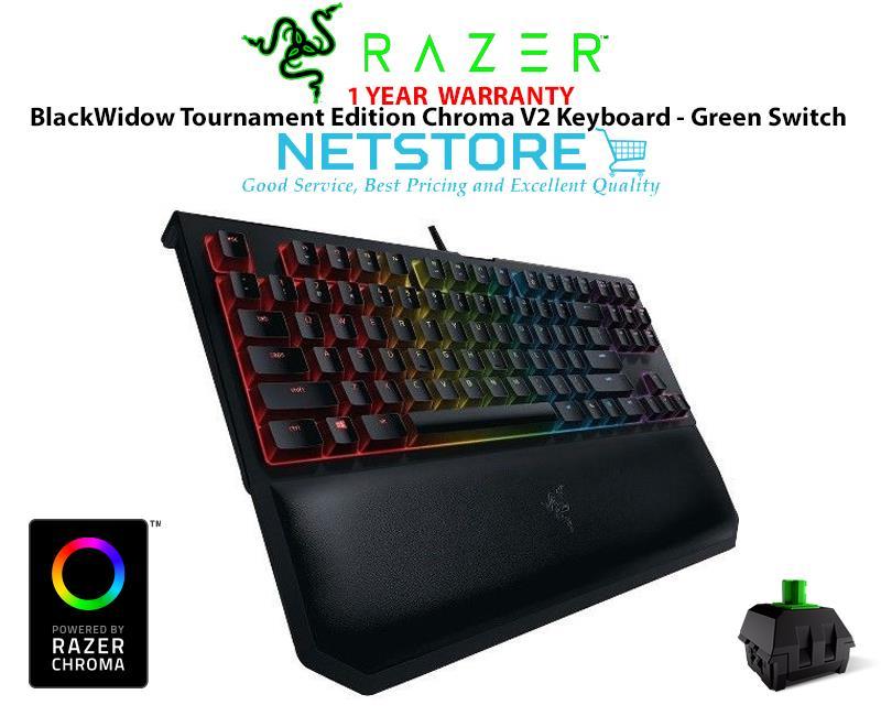 razer blackwidow chroma tournament edition v2 green switch