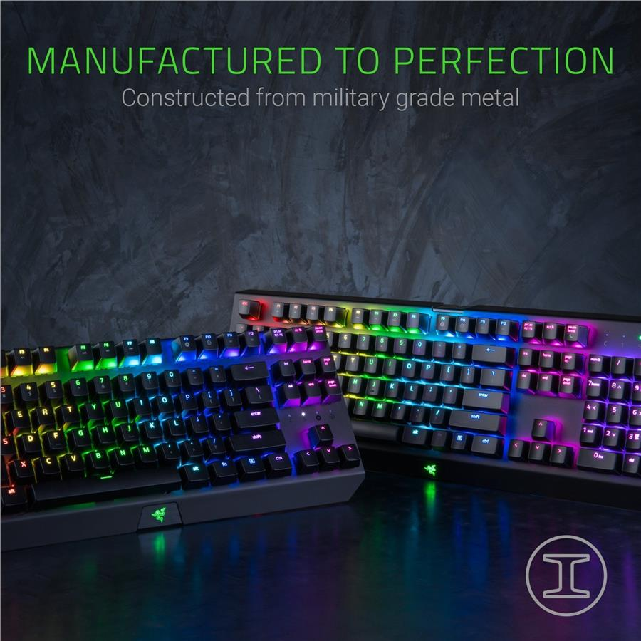 Razer BlackWidow X Chroma Gaming Keyboard - Gunmetal Grey