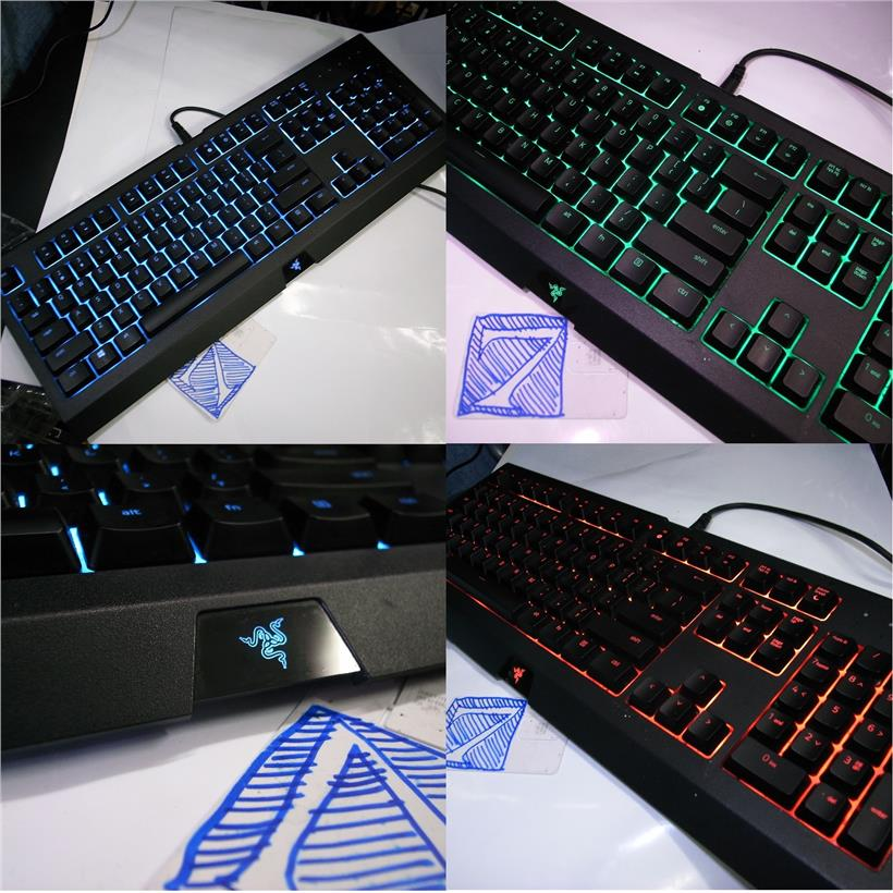 Razer CYNOSA CHROMA Multi Color Gaming Keyboard Rm140