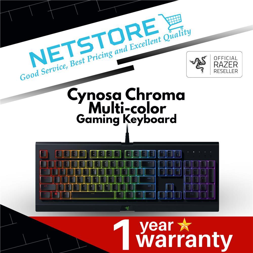 Razer Cynosa Chroma Multi-color Gaming Keyboard - RZ03-02260100-R3M1