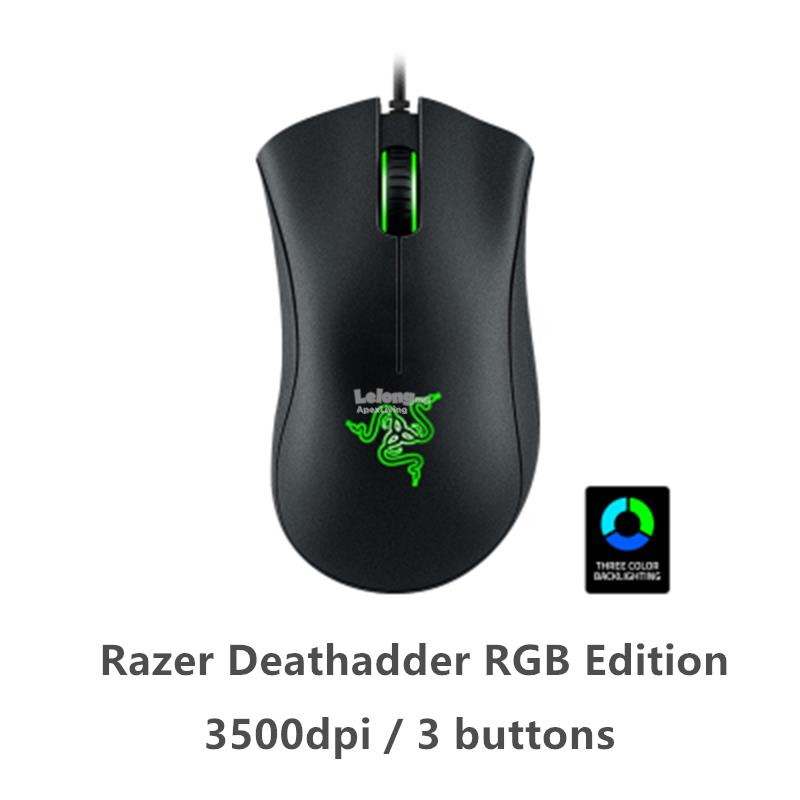 Razer Deathadder RGB Edition Gaming Mouse 3500dpi 3Buttons